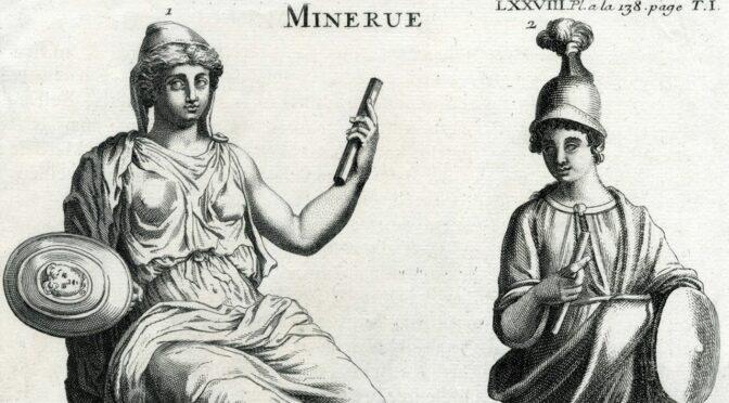 Jupiter contre Minerve